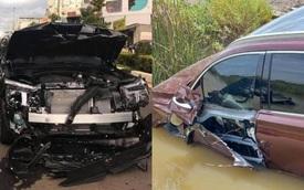 Điểm danh hội chủ nhân Hyundai Santa Fe 2021 vừa nhận xe đã 'phá': Nhẹ thì gãy gương, nặng thì biến dạng hoàn toàn