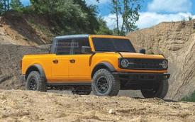 Hàng 'hot' Ford Bronco vừa chào hàng đại gia Việt sẽ không có biến thể bán tải