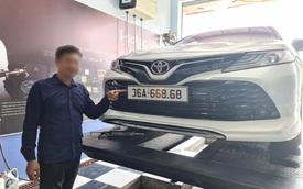 Sau Ranger '666.66' và Santa Fe '666.86', giới chủ xe Thanh Hoá lại khoe Toyota Camry biển lộc phát '668.68'