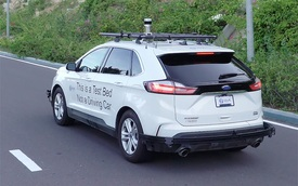Sự thật về chiếc Ford Edge lạ trên đường Việt Nam: Là xe nghiên cứu cho VinFast, có công nghệ tự lái