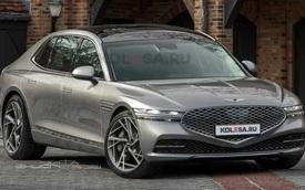 Xem trước Genesis G90 2022 - Sedan full-size hạng sang Hàn Quốc tham vọng 'chung mâm' Mercedes S-Class và BMW 7-Series