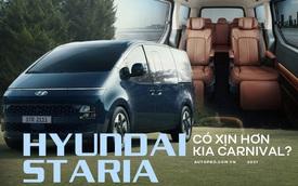 Bóc tách Hyundai Staria: To và 'ăn tiền' hơn Kia Carnival, từ 7 tới 11 chỗ ngồi, mong TC Motor sớm mang về Việt Nam