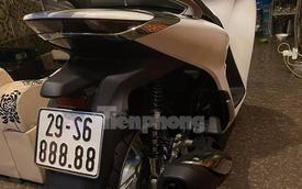 Honda SH biển ngũ quý 8 bán lại gần 600 triệu đồng