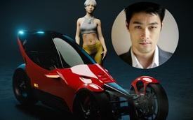 Johnny Trí Nguyễn tiết lộ 'hậu trường' dự án mô tô tự chế: Mất 3 tuần để thiết kế người mẫu giống Nhung Kate vì muốn 'âm dương cân bằng'
