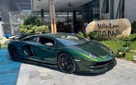 Lamborghini Aventador SVJ gia nhập bộ sưu tập trăm tỷ của doanh nhân vườn lan