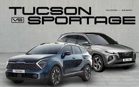 Nếu chán CR-V, CX-5 thì chờ Kia Sportage 2022 hay Hyundai Tucson 2021: Video so sánh này sẽ cho bạn câu trả lời