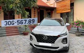 Bốc trúng biển 'sảnh rồng 567.89', Hyundai Santa Fe cũ vẫn đắt giá hơn Mercedes-Benz GLC cả trăm triệu đồng