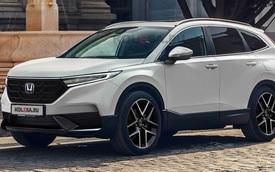 Xem trước Honda CR-V đời mới: Đầu xe khác lạ, nội thất 7 chỗ hứa hẹn rộng hơn bao giờ hết
