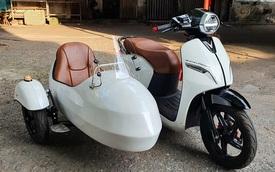 Độ VinFast Klara thành sidecar với chỉ 25 triệu đồng, chủ xe chia sẻ: Xe êm, đề-pa 'bốc' hơn và còn có thể đi lùi