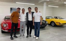 'Dân chơi' Tyler Ngo gặp gỡ David Lee, hé lộ dàn siêu xe hàng chục triệu đô hàng hiếm trên thế giới