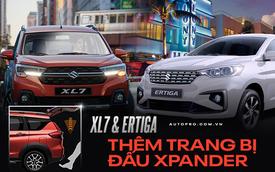 Suzuki XL7 và Ertiga thêm bản đặc biệt tại Việt Nam: Có camera 360 độ, sạc không dây và đá cốp, quyết đấu Mitsubishi Xpander