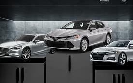 Nhìn vào con số này, Toyota Camry phải dè chừng với Mazda6