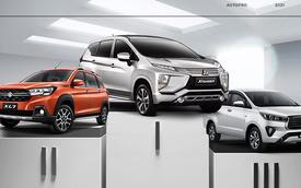 Chỉ bán được 98 xe, Mitsubishi Xpander vẫn đứng đầu phân khúc, gấp gần 10 lần doanh số Toyota Innova