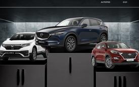 Mazda CX-5 đòi lại ngôi vương từ Honda CR-V, Hyundai Tucson dần tụt lại sau