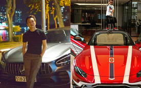 Minh Nhựa gạ đổi Aston Martin V8 Vantage lấy 'Mẹc' GT R, Nguyễn Quốc Cường 'chốt' đáp lời: 'Cậu muốn là được hết'