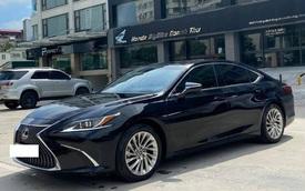 Sau 3 năm, Lexus ES 250 bán lại chỉ chênh 141 triệu đồng so với giá niêm yết chính hãng