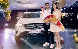 Vừa xin nghỉ về thăm vợ con, tiền vệ 1996 Phan Văn Đức sắm liền Mercedes-Benz GLC giá hơn 2 tỷ, CĐM gán danh hiệu 'người chồng quốc dân'
