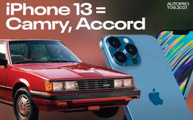 Không mua iPhone 13, bạn có thể tậu được Toyota Camry, Honda Accord và 'Mazda3' nếu chấp nhận chơi xe đời sâu