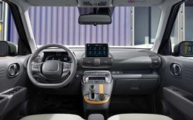 Hyundai Casper lần đầu lộ nội thất: Chiếc xe đầu tiên có ghế lái gập phẳng, giá quy đổi từ 270 triệu đồng, 'hot' đến mức Tổng thống Hàn Quốc cũng đặt một chiếc