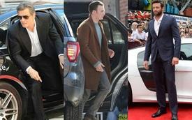 Những khoảnh khắc 'xuất thần' của các nam tài tử Hollywood khi bước xuống xe: Hào nhoáng trên thảm đỏ, phong độ cả ngày thường