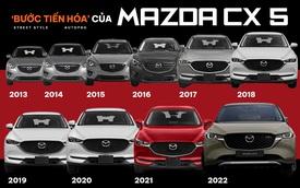 9 lần thay đổi của Mazda CX-5: Option tăng dần, thiết kế ít cập nhật