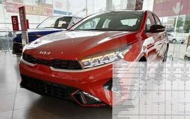 Lộ thông số Kia K3 2022 sắp bán tại Việt Nam: Nhiều trang bị 'xịn' hơn nhưng vẫn có điểm 'cải lùi' so với Cerato