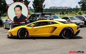 Đại gia Hoàng Kim Khánh cầm lái Lamborghini cực ngầu trên livestream nhưng bạn bè lại trêu đùa âm thanh của siêu phẩm giá vài chục tỷ đồng