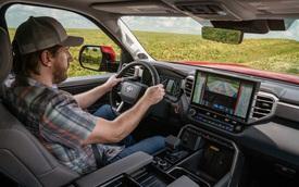 Khám phá màn hình trên Toyota Tundra 2022: Xịn và to chưa từng có, hiện đại như Lexus, có trợ lý ảo Hey Toyota