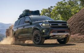 Ra mắt Ford Expedition 2022 - Đàn anh Explorer tiệm cận xe sang với màn hình siêu to khổng lồ