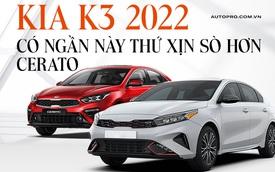 Đây là 9 điểm nâng cấp trên Kia K3 2022 vừa ra mắt Việt Nam: Chủ yếu ở nội thất, có tính năng độc nhất phân khúc