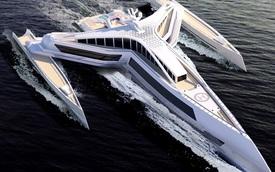 Siêu du thuyền lắp vũ khí 'khủng' như tàu chiến: Hải tặc vừa nhìn đã khiếp vía xin tha!