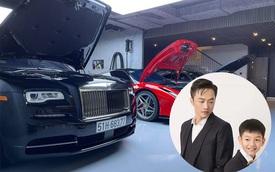 Cưng chiều con như 'bố bỉm' Nguyễn Quốc Cường: Hết biến garage siêu xe thành khu vui chơi cho Suchin, giờ lại làm sân đánh trận giả cho Subeo