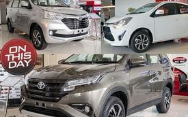 Ngày này năm xưa: Toyota Avanza, Rush, Wigo đồng loạt ra mắt, Renault trở lại, Nissan đổi chủ tại Việt Nam