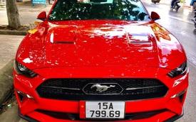 Sau Bentley Flying Spur, một dân chơi khác tại Hải Phòng tiếp tục tậu Ford Mustang với biển số thần tài lớn