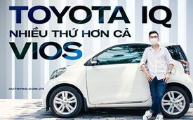 Đánh giá nhanh Toyota iQ: Xe cũ giá 1,3 tỷ, 4 chỗ nhưng hợp 2 người luồn lách phố đông