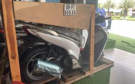 Khoe xe chưa một lần uống xăng, 'dân chơi' bán lại Honda SH 150i biển ngũ quý '666.66' giá hơn 1 tỷ đồng