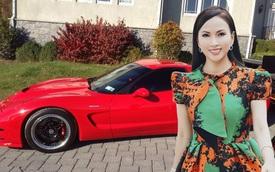 Nhìn sân nhà là thấy độ chơi, 'em gái tỷ phú của Cẩm Ly' sở hữu BST xe đồ sộ, từ lâu đã sắm phi cơ, trực thăng riêng để tiện di chuyển