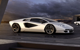 Nhá hàng siêu xe Lamborghini mới sẽ ra mắt tháng 10: Có thể là một Countach thứ 2