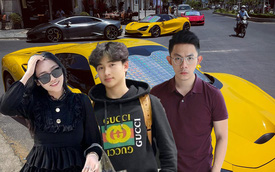 Thú chơi siêu xe của những thiếu gia Gen Z tại Việt Nam: Có người thay xe như thay áo, Lamborghini cũng chỉ để đi chợ