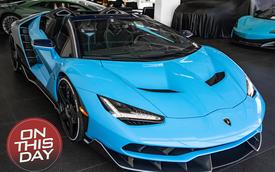 Trong khi chủ nhân thất tình vẫn 'bặt vô âm tín' thì chiếc Lamborghini Centenario Roadster độc nhất vô nhị giờ ra sao?