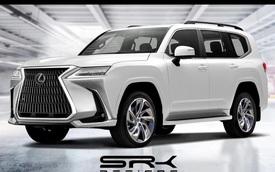 Xem trước thiết kế Lexus LX thế hệ mới: Đầu góc cạnh hơn, đuôi gần giống Toyota Land Cruiser