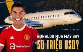 Ronaldo cùng gia đình đến Manchester bằng máy bay mới: Có thể bay từ châu Âu tới châu Mỹ, giá cao nhất 50 triệu USD