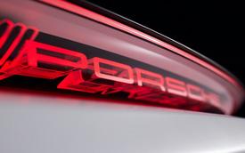 Porsche hé lộ xe mới ra mắt ngày mai với cụm đèn hậu 3D