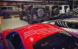 Showroom tại Sài Gòn khoe dàn xe hàng trăm tỷ đồng xếp chật kín trong mùa dịch: Có siêu xe nhưng Mercedes-AMG G 63 mới gây chú ý bởi số lượng khủng