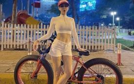 Nhớ những ngày hóng mát, Diệp Lâm Anh tiện khoe xe đạp Ferrari độc lạ, ít người chơi tại Việt Nam