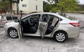 Chủ xe bán Toyota Vios 6 năm tuổi giá 450 triệu, CĐM hỏi thăm: 'Bác bán xe hay xin gạch xây nhà'