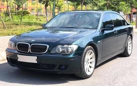 BMW 750 Li trượt giá sau 14 năm, tiền bán lại không đủ để tậu Hyundai Accent 2021