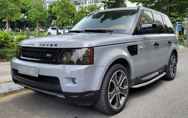 Chạy gần 100.000km, Range Rover Sport màu lạ xuống giá rẻ hơn cả Hyundai Santa Fe
