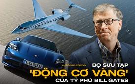 Tỷ phú Bill Gates 'vào tù ra tội' chỉ vì quá yêu Porsche, nhưng máy bay 'đẳng cấp quân sự' mới là hàng khủng chiếm trọn spotlight