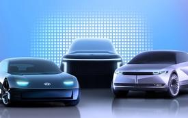 SUV đầu bảng mới của Hyundai lần đầu lộ diện: Trần cong, kính chắn gió nghiêng
